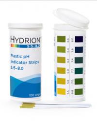Hydrion 5.5-8.0 Plastic pH Strip  Catalog#: 9700