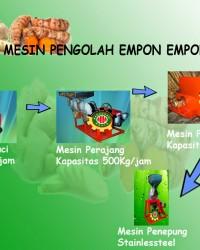 MESIN PENGOLAH EMPON-EMPON