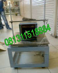 Jual Vibrating Table Concrete, Penggetar Cetakan Kubus Beton, Meja Penggetar Beton
