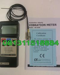Jual Lutron VB 8200, Vibration Meter Lutron, Lutron Vibration Meter, Alat Vibrasi Meter
