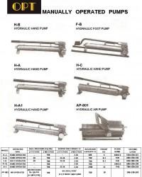 hydraulic Hand Pump OPT