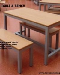 Meja dan Kursi Kantin