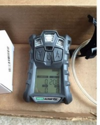 Gas Detector MSA altair 4X multi gas detector, O2,H2S,CO,LEL + Charger