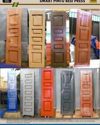 Smart Pintu Besi Press  - Melipat Ruko