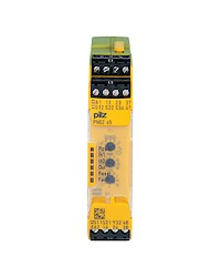 PILZ Safety Relay PNOZ s4 C 24VDC 3 n/o 1 n/c