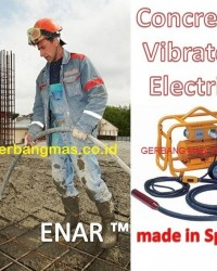 CONCRETE VIBRATOR ELECTRIC ( VIBRATOR BETON ELEKTRIK) for high frequency - ENAR