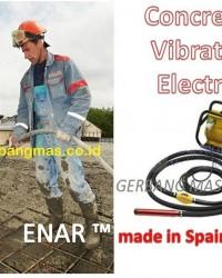CONCRETE VIBRATOR ELECTRIC / MESIN VIBRATOR BETON ELEKTRIK ENAR