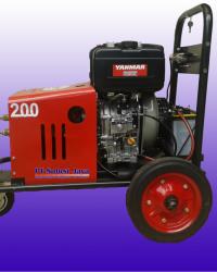 Pompa Hydrotest 200 bar - Uji Tes Tekanan Tinggi