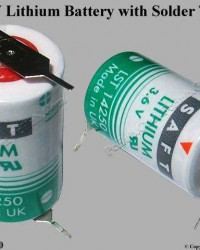 Saft LS14250, Saft Lithium Battery
