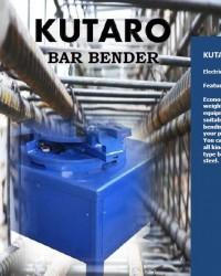 BAR BENDER - MESIN TEKUK BESI BETON - KUTARO