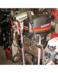 overhaul outboard engine / mesin tempel