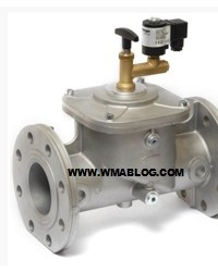 EVRMNC EVRM6NC Safety solenoid valve for gas, manually reset