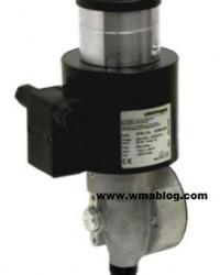 SR SL ST Solenoid actuator for butterfly valves