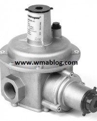 RFS  Gas pressure regulators with filter and safety shut- off valve