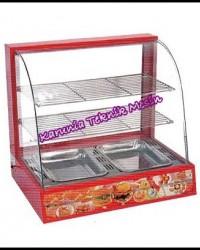 Showcase pemanas murah / Heat Showcase / Mesin display makanan / Mesin penghangat