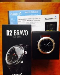 Garmin D2 Bravo Gps Aviator Navigation Pilot Watch
