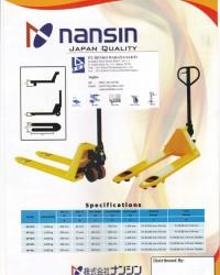 Jual hand pallet truck-Nansin by jito-denko 085228302798