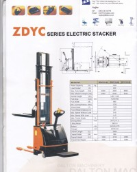 Jual hand stacker full electric,Hand lift Termurah by jito-denko 085228302798