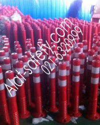 Jual Rubber Stick Cone , Pembatas Jalan, Pembatas Parkir, Traffic Delineator alat-safety.com