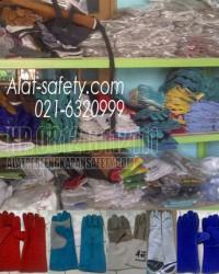 sarung tangan safety, sarung tangan las argon, sarung tangan pemadam kebakaran, safety gloves alat-s