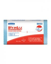 Kimberly Clark 94151 Wypall Color Coded Wipers