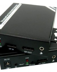 DP in HDMI out over IP Chainable Extender with RS-232/IR/Audio
