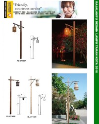 Katalog Tiang Lampu Taman Kota 2016