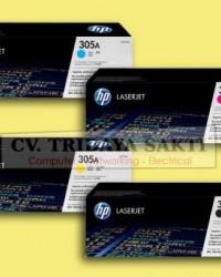 HP Toner 305A Black, Cyan, Yellow, Magenta (CE410A, CE411A, CE412A, CE413)