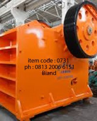 jual  STONE CRUSHER dan perlengkapannya 0813 2006 6151
