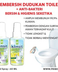 Pembersih Dudukan Toilet Seat Sanitizer PRIMO KLINSIT