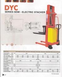 Promo Hand Stacker Semi Elektrik
