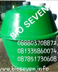 Septic Tank BioSeven untuk 1 sampai 4 orang / hari tanpa sedot