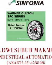 SINFONIA TECHNOLOGY  CLUTCH SFC SERIES