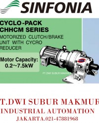 SINFONIA TECHNOLOGY CYCLO PACK CHHCM SERIES