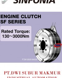 SINFONIA TECHNOLOGY ENGINE CLUTCH SE SERIES