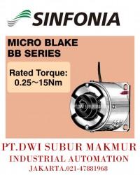 SINFONIA TECHNOLOGY MICRO BLAKE  BB SERIES