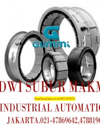GUMMI Pneumatic Clutches and Brakes Type FK