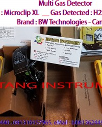 081362449440 Jual Gas Detector MICROCLIP XL BW TECHNOLOGIES CANADA