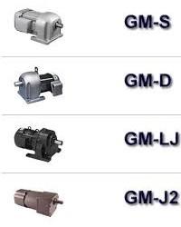 MITSUBISHI GEARMOTOR GM-S,GM-D,GM-LJ,GM-SSY