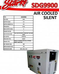 STARKE SDG 9900 (6.000 watt) SILENT