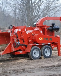 MESIN DRUM WOOD CHIPPER MOBILE