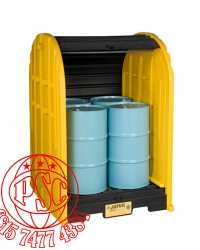 EcoPoly Blend Drum Sheds Justrite