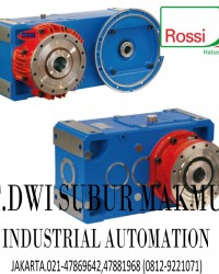 ROSSI HELICAL AND BEVEL HELICAL GEAR UNITS
