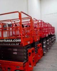 Pusat Harga Jual Scissor Lift | Manlift | Tangga Elektrik Mantall 14 Meter Baru Murah