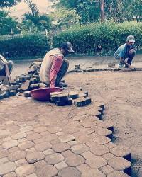 Jasa Pemasangan Paving Blok Halaman Ruko, Jalan, Taman di Cilandak, Kemang, Bangka, Ampera