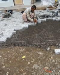 Jasa Pemasangan Paving Block JaKarta | Bongkar Pasang Paving Block Rusak / Amblas Ganti Paving Baru