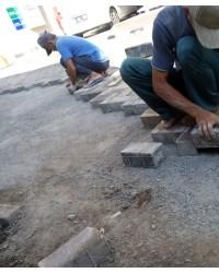 Jasa Pemasangan Paving Block Halaman Kantor, Halaman Masjid, Halaman Ruko, Gudang, Alfamart/Indomar