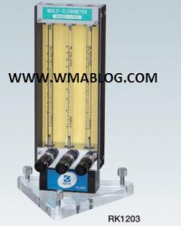 Kofloc Multiple Flow Meter with Needle Valve (for Measurement and Control for Laboratory) MODEL RK 1
