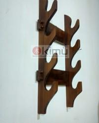 Claw Wall Katanakake ( Rak Pedang ) 4 Tingkat Versi Dinding