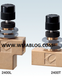 Kofloc Panel-mount Miniature Needle Valve MODEL 2400 SERIES